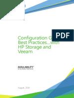 Veeam Configuration Guide Best Practices Hp Storage