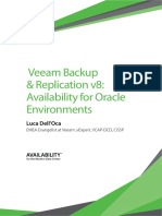 Veeam Data Protection Oracle Environments