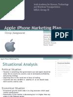 21275028 Apple iPhone Marketing Plan