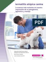 Dermatitis Atópica Canina. Los Avances Más Recientes en Nuestra Comprensión de Su Patogénesis, Diagnóstico y Manejo