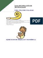 Dislalias y Rotacismo Recopilación de Ejercicios Bucofaciales