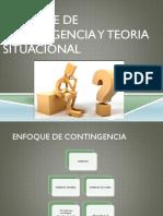 Enfoque de Contingencia y Teoria Situacional