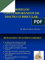 MODELOS DE DISEÑO CURRICULAR 2.pps