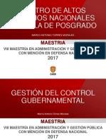 Gestión Del Control Gubernamental II - Importancia Del Control