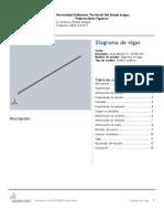 Diagrama de Vigas