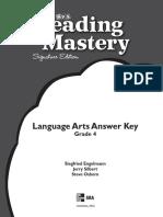 Answer Key Language Arts