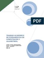 Trabajo Academico de Fundamentos de Computacion y Algoritmos