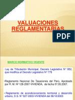 2 A SEGUNDA SEMANA  VALUACION REGLAMENTAREA.ppt