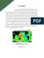 Sea Level Rise (Web Browsing)