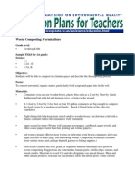 Worm Composting Lessons Plans for Student Grades 1-8, Texas