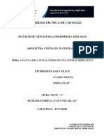 Diseño y Dimensionamiento de Centrales Hidroelectricas