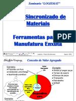 Manufatura Enxuta Fluxo Sincronizado de Materiais