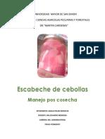 Cebollas en Escabeche