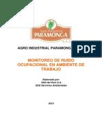 4. Monitoreo de Higiene Industrial - Ruido