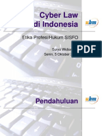 cyber law indonesia