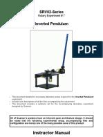 SRV02 Exp7 Inverted Pendulum Solution