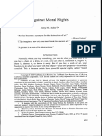 Against Moral Right