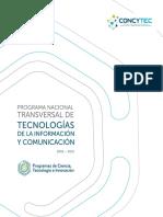 Doc Programa Tecnologias Informacion Comunicacion