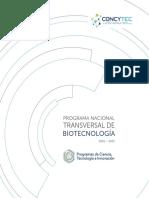 Programa Biotecnologia