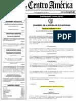 Decreto 5-2017 Ley de Protección y Bienestar Animal