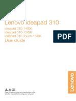 Lenovo Ideapad User Guide