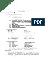 Informe de Pasantía - Iespp Ns Chota Corregido - Primer Grupo