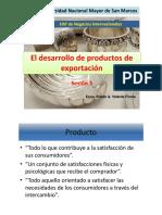 Ses3 El Desarrollo de Productos de Exportación