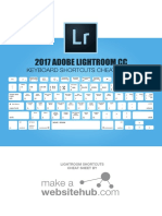 Lightroom Keyboard Shortcuts