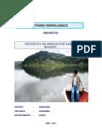 Exposicion Hidrologica Proyecto Sambor Huaypo