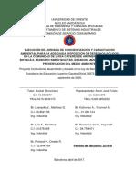 Informe Final de Servicio Comunitario Fase II