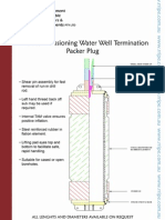 Decommissioning Water Well Termination Packer Plug