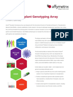 Axiom Transplant Genotyping Array Content Summary Flyer
