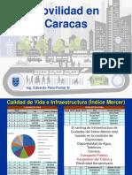 (2013!10!04) PAEZ La Movilidad en Caracas