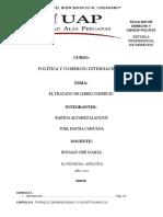 Politica y Comercio Interncacional