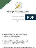 Emergencias y Desastres- SONIA CÁCERES