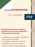 2576756 Tipos de Proyectos