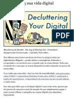 Decluttering Your Digital Life - Brett McKay