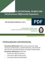 Persamaan Diferensial Simultan