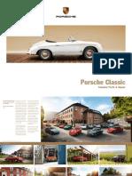 Porsche Image Brochure Porsche Classic (2017)