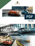 Porsche 718 - Catalogue (MY2017)