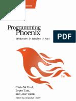 Chris McCord Bruce Tate Jose Valim-Programming Phoenix-En