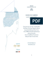 Canção dos caminhos - Associação dos arcanos maiores com poemas de Cecília Meireles.pdf