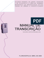 Manual Transcricao