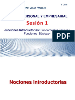 Nociones Introductorias