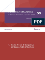 5G Market Strategies 2015 2025 Full Research Suite Table of Contents (1)