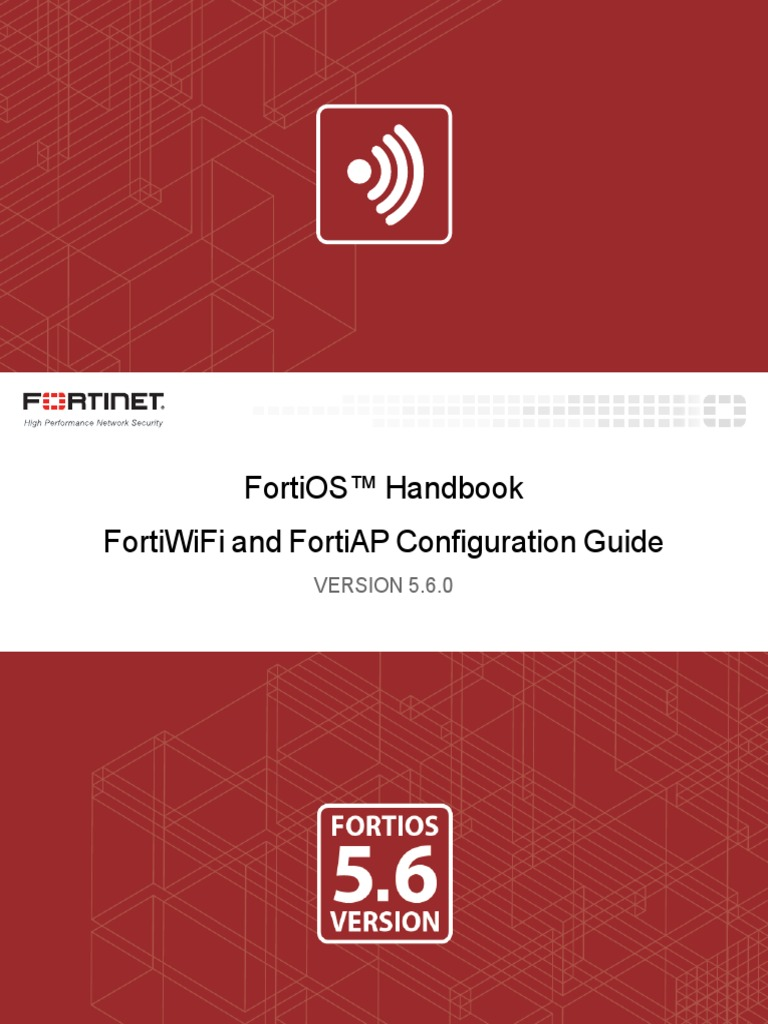 Fortigate Fortiwifi and Fortiap Configuration Guide 56 | Wireless