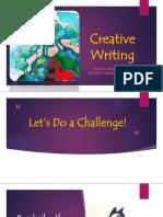 Creative Writing DICTION