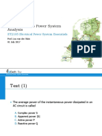 1 Introduction to Power System Analysis
