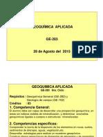 Cap 1 Objetivos Explo Geoqui 28 Agosto 15.ppt