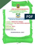 INFORME PRACTICA CUENCA DEL MANTARO